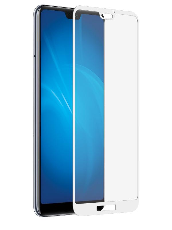 Аксессуар Защитное стекло Optmobilion для Huawie Nova 3E 2.5D White цена