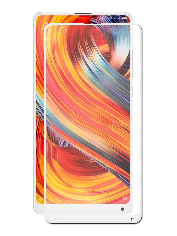 Аксессуар Защитное стекло Optmobilion для Xiaomi Mi Mix 2S 2.5D White анальная цепочка из силикона