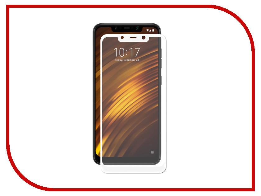 Аксессуар Защитное стекло для Xiaomi Mi Pocophone F1 Optmobilion 2.5D White бра dio d arte sorrento e 2 1 2 200 a