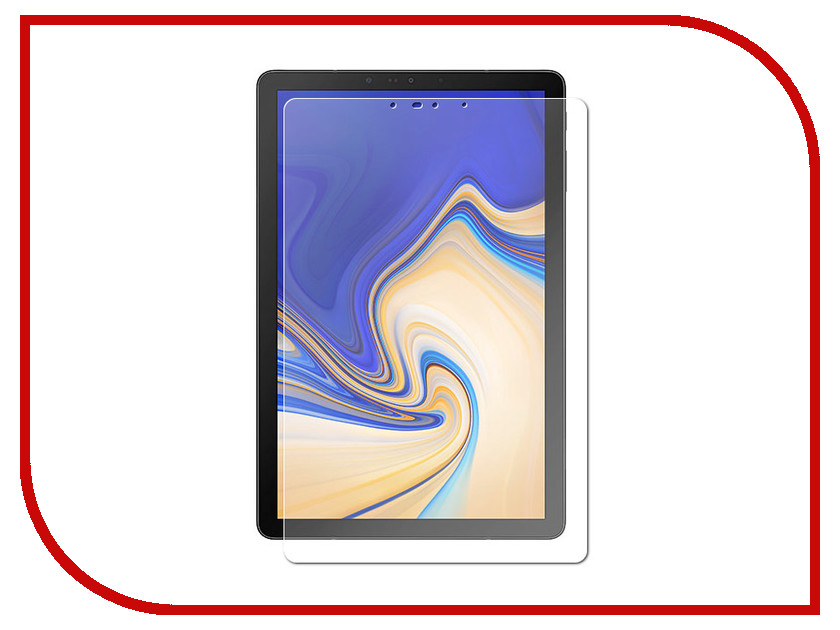 Аксессуар Защитная пленка для Samsung Galaxy Tab S4 SM-T8 10.5-inch LuxCase антибликовая 52670 аксессуар защитная пленка lenovo tab 4 tb x304l 10 inch luxcase антибликовая 51166