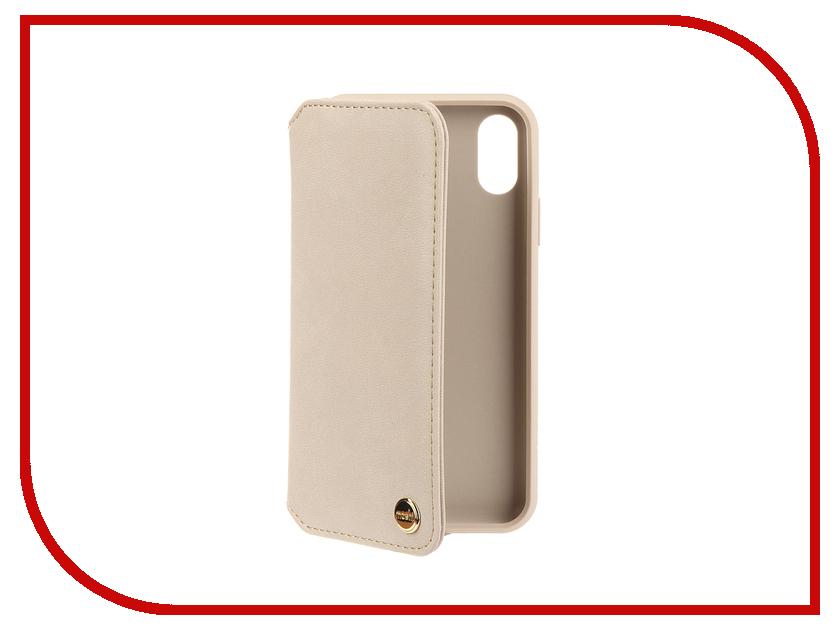 Аксессуар Чехол для APPLE iPhone XR Moshi Overture Savanna Beige 99MO091261 клип кейс moshi vitros для apple iphone xr серебристый