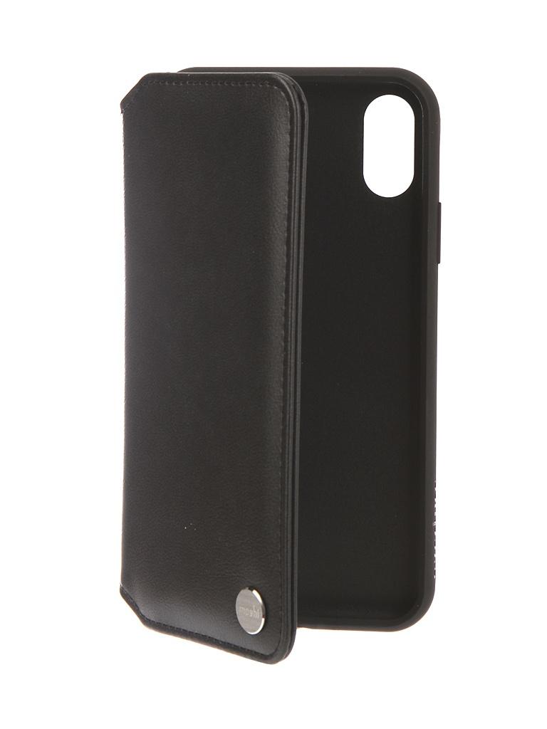 Аксессуар Чехол Moshi для APPLE iPhone XR Overture Charcoal Black 99MO091010