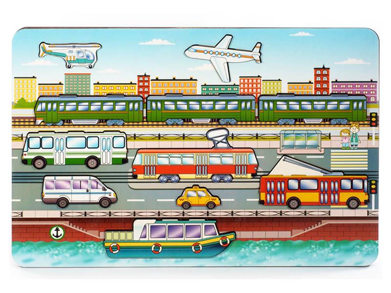 Сортер Нескучные игры Городской транспорт 8013
