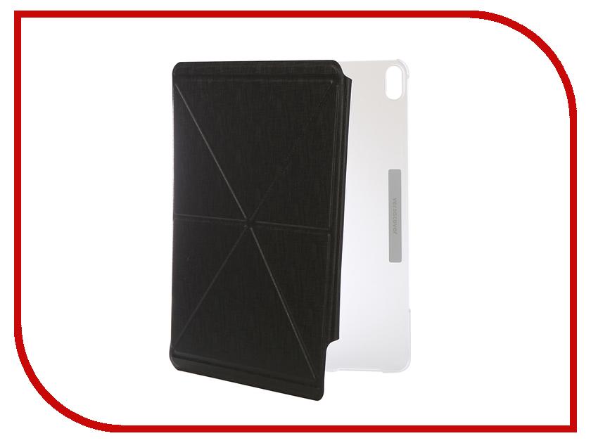 Аксессуар Чехол для iPad Pro 12.9-inch 2018 Moshi VersaCover Graphite Metro Black 99MO056007 аксессуар сумка 15 inch moshi codex 15 для macbook pro black 99mo093002