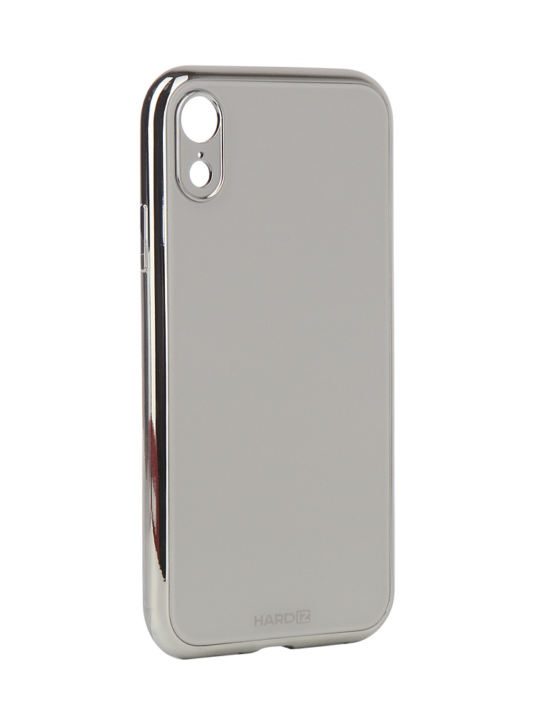 Аксессуар Чехол Hardiz для APPLE iPhone XR Glass Case White HRD811700