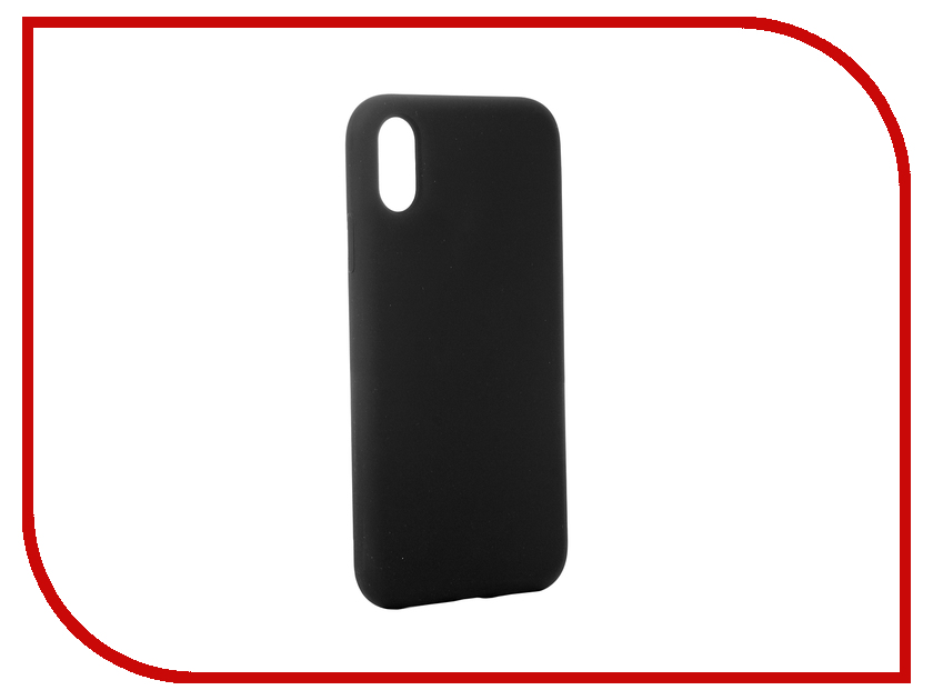Аксессуар Чехол для APPLE iPhone XR Hardiz Liquid Silicone Case Dark Grey HRD811400