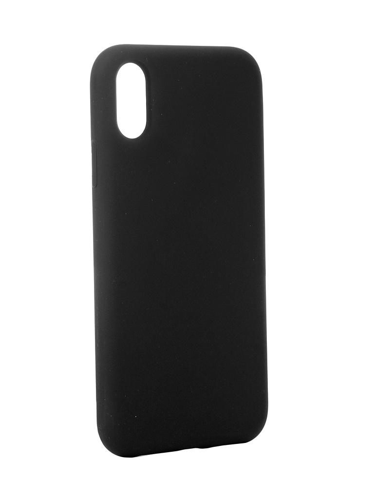Аксессуар Чехол Hardiz для APPLE iPhone XR Liquid Silicone Case Dark Grey HRD811400