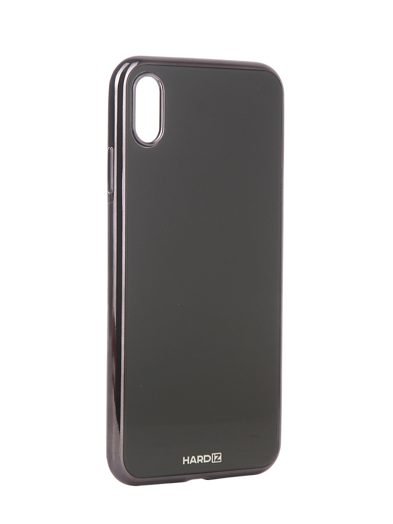 Аксессуар Чехол Hardiz для APPLE iPhone XS Max Glass Case Black HRD812701