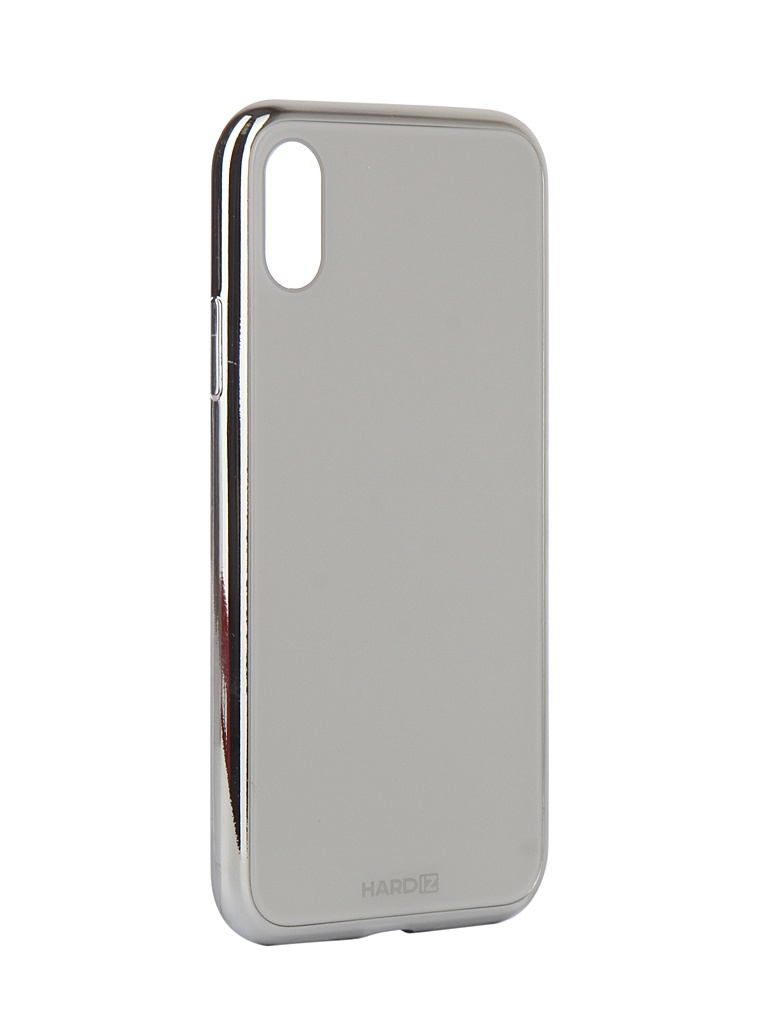Аксессуар Чехол Hardiz для APPLE iPhone XS Glass Case White HRD810700