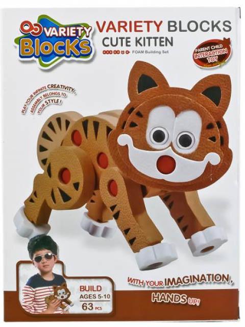 Конструктор Variety Blocks Кошка 63 дет. 3111