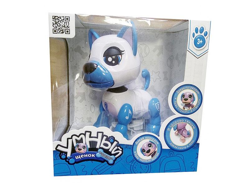 Робот Toypost Умный щенок Light-Blue 77000