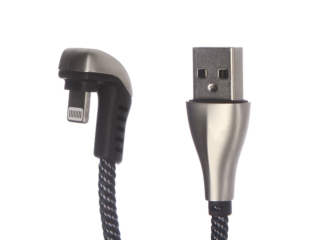 Аксессуар Dorten Angled Series 360 Lighting to USB 1.2m Silver DN312801