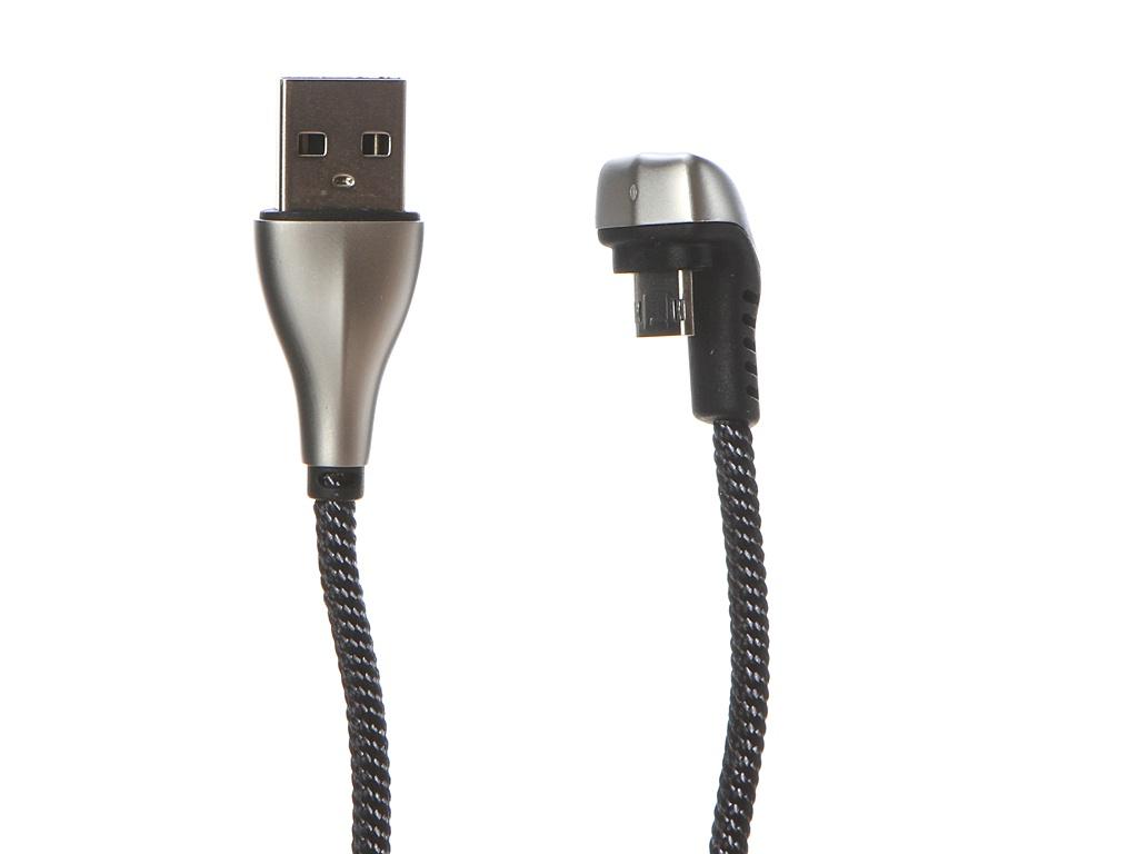 цены Аксессуар Dorten Angled Series 360 MicroUSB to USB 1.2m Silver DN128701
