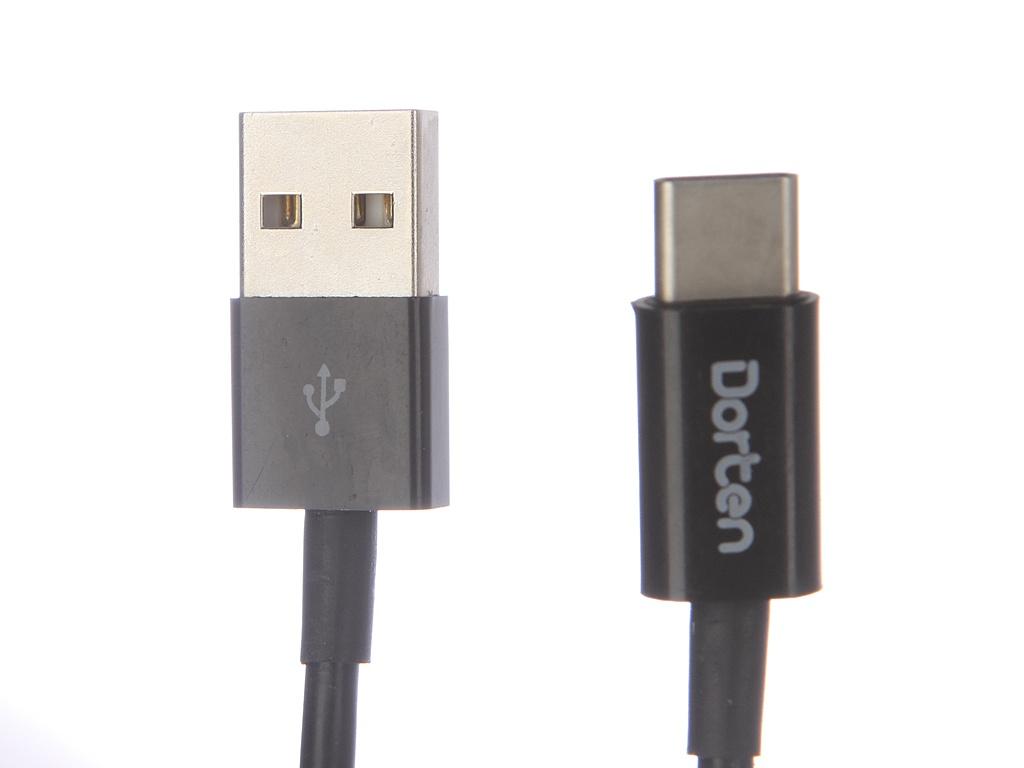 Аксессуар Dorten Classic Series USB-C to USB 1m Black DN303200