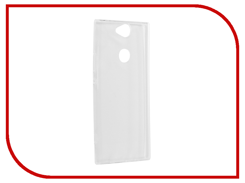 Аксессуар Чехол для Sony Xperia XA2 Plus Brosco Silicone Transparent XA2P-TPU-TRANSPARENT чехол sony оригинальный чехол stand cover чехол подставка для xperia xa2 plus цвет серебристый