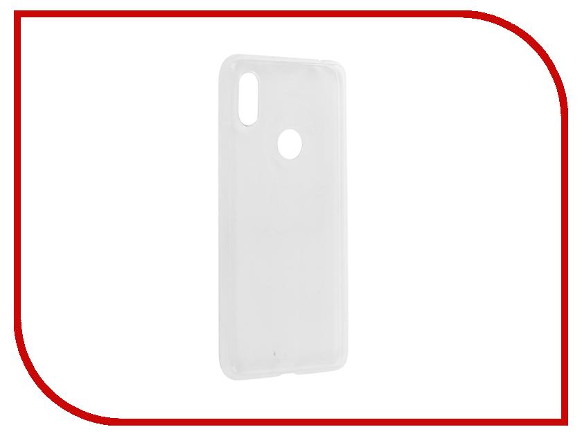 Аксессуар Чехол для Xiaomi Redmi S2 Brosco Silicone Transparent XM-RS2-TPU-TRANSPARENT convoy s2 aluminum alloy grey xm l2 7135x8 3 5modes edc led flashlight torch by 18650 battery for camping hiking
