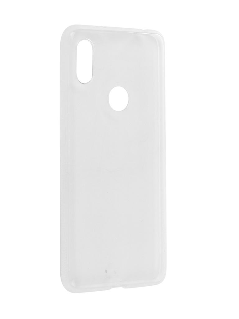 Чехол Brosco для Xiaomi Redmi S2 Silicone Transparent XM-RS2-TPU-TRANSPARENT