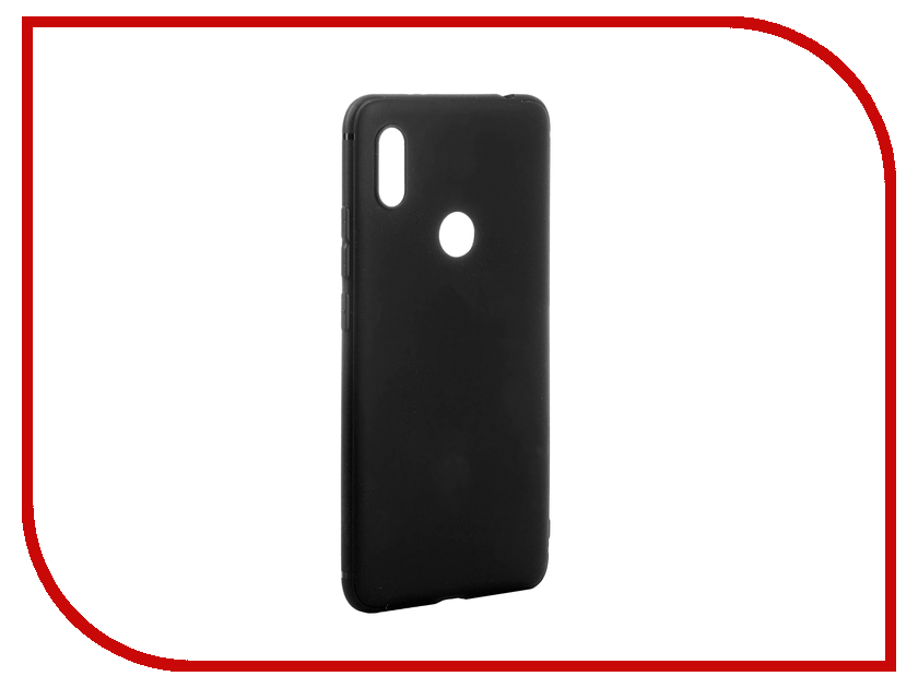 Аксессуар Чехол для Xiaomi Redmi S2 Brosco Superslim Black XM-RS2-PP-SUPERSLIM-BLACK аксессуар чехол skatebox для самоката xiaomi black st17 black black