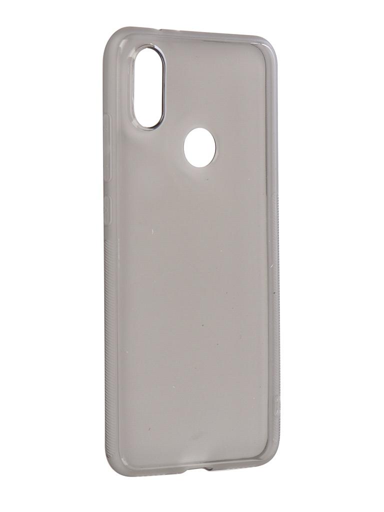 Аксессуар Чехол Brosco для Xiaomi Mi A2 Softtouch Silicone Black XM-MiA2-TPU-BLACK