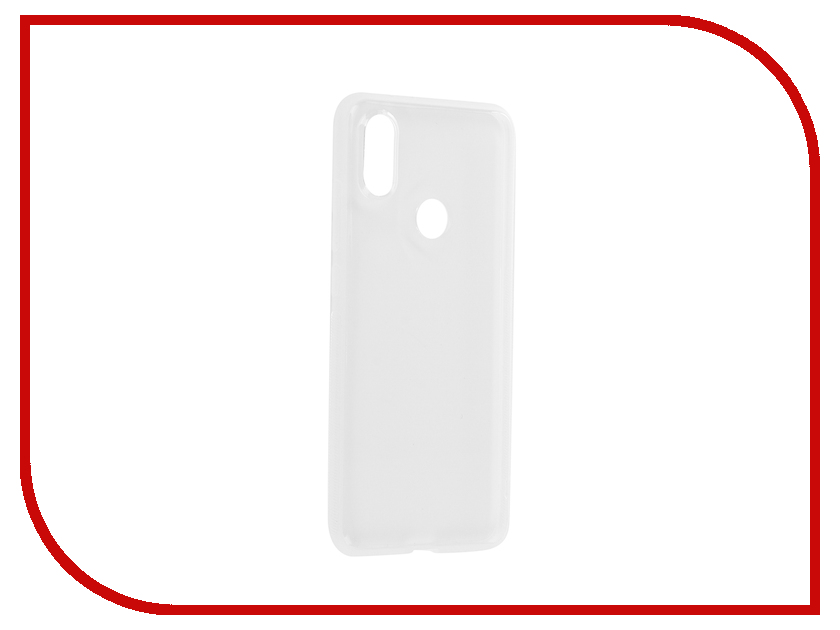 Аксессуар Чехол для Xiaomi Mi A2 Brosco Silicone Transparent XM-MIA2-TPU-TRANSPARENT цена