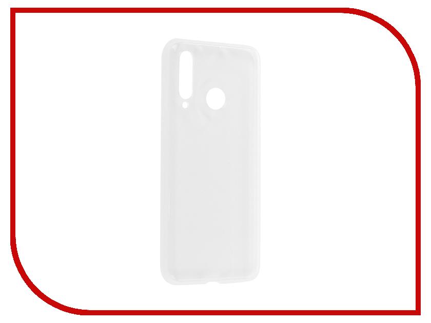 Аксессуар Чехол для Huawei Nova 4 Brosco Silicone Transparent HW-N4-TPU-TRANSPARENT аксессуар чехол для huawei nova 3i gecko transparent white s g huahnova3i wh
