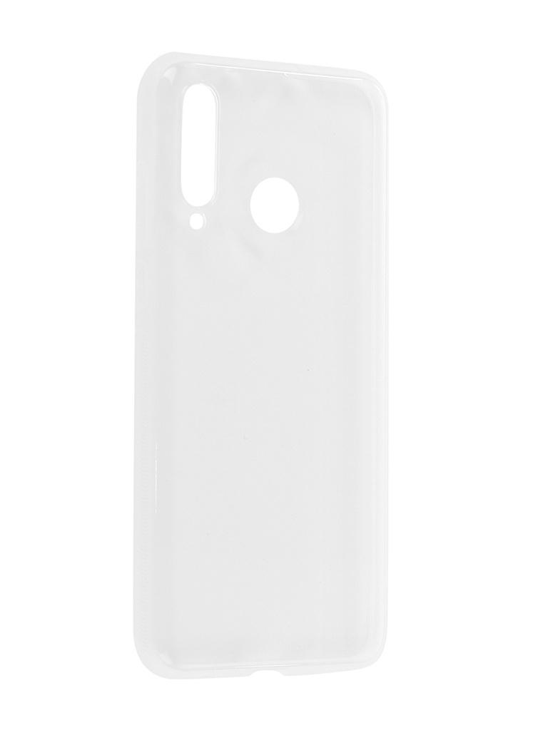 Аксессуар Чехол Brosco для Huawei Nova 4 Silicone Transparent HW-N4-TPU-TRANSPARENT