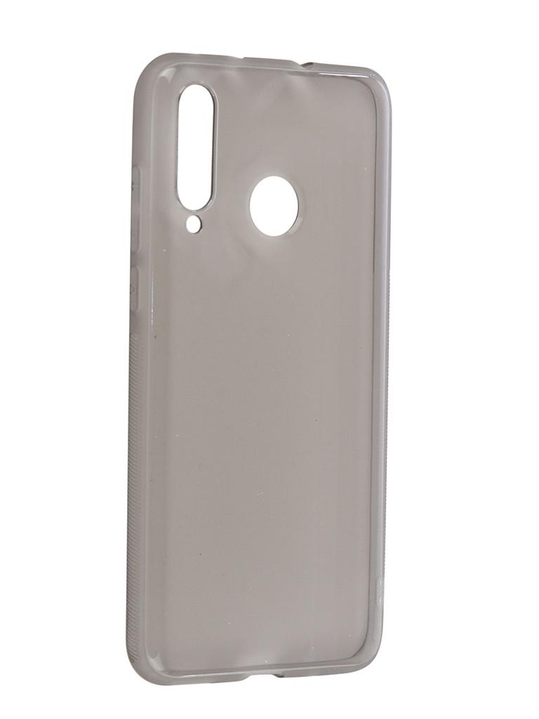 Чехол Brosco для Huawei Nova 4 Silicone Black HW-N4-TPU-BLACK