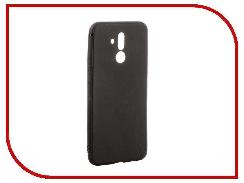 Аксессуар Чехол для Huawei Mate 20 Lite Brosco Softtouch Silicone Black HW-M20L-TPU-ST-BLACK смартфон huawei mate 20 lite синий