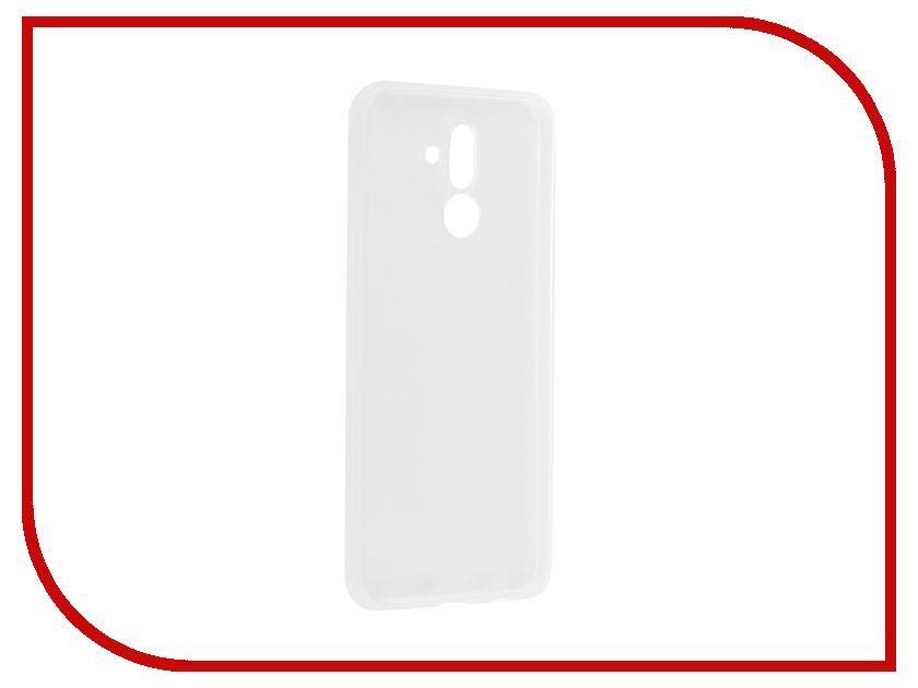 Аксессуар Чехол для Huawei Mate 20 Lite Brosco Silicone Transparent HW-M20L-TPU-TRANSPARENT смартфон huawei mate 20 lite синий
