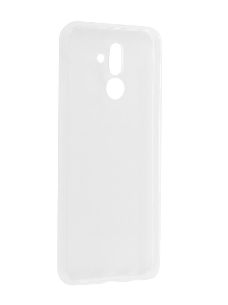 Аксессуар Чехол Brosco для Huawei Mate 20 Lite Silicone Transparent HW-M20L-TPU-TRANSPARENT