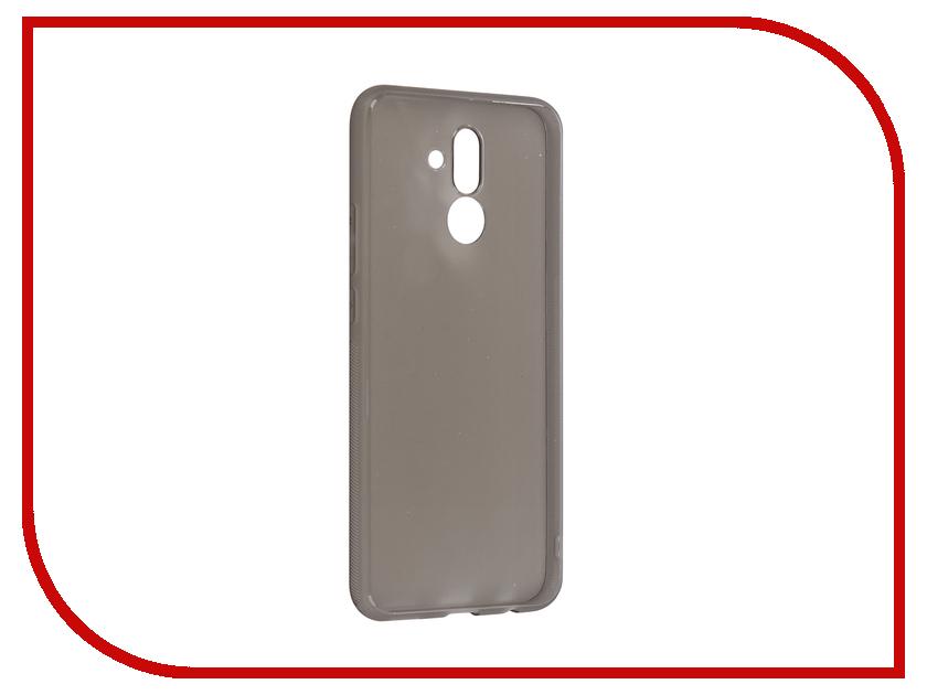Аксессуар Чехол для Huawei Mate 20 Lite Brosco Silicone Black HW-M20L-TPU-BLACK смартфон huawei mate 20 lite синий