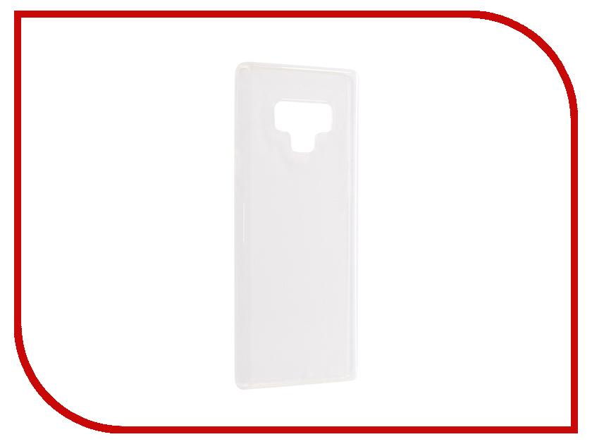 Аксессуар Чехол для Samsung Galaxy Note 9 Brosco Silicone Transparent SS-N9-TPU-TRANSPARENT аксессуар чехол для samsung galaxy j7 j730 2017 gecko transparent glossy white s g sgj7 2017 wh