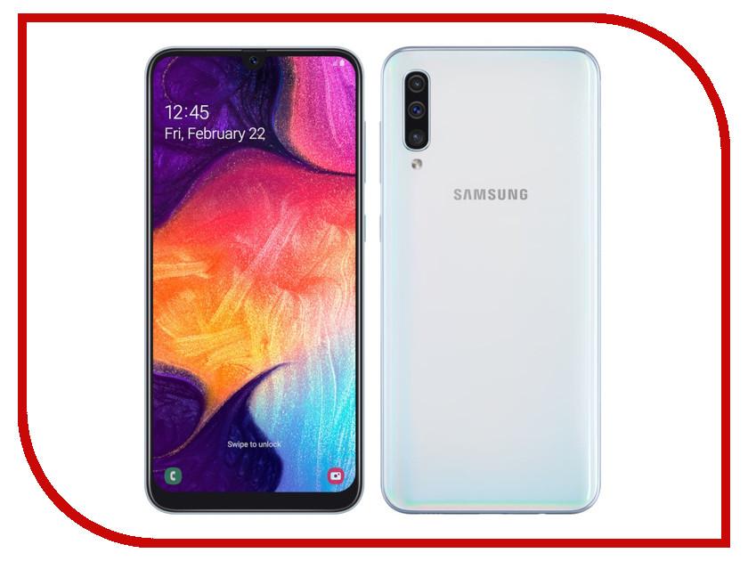 Сотовый телефон Samsung Galaxy A50 64GB White цена