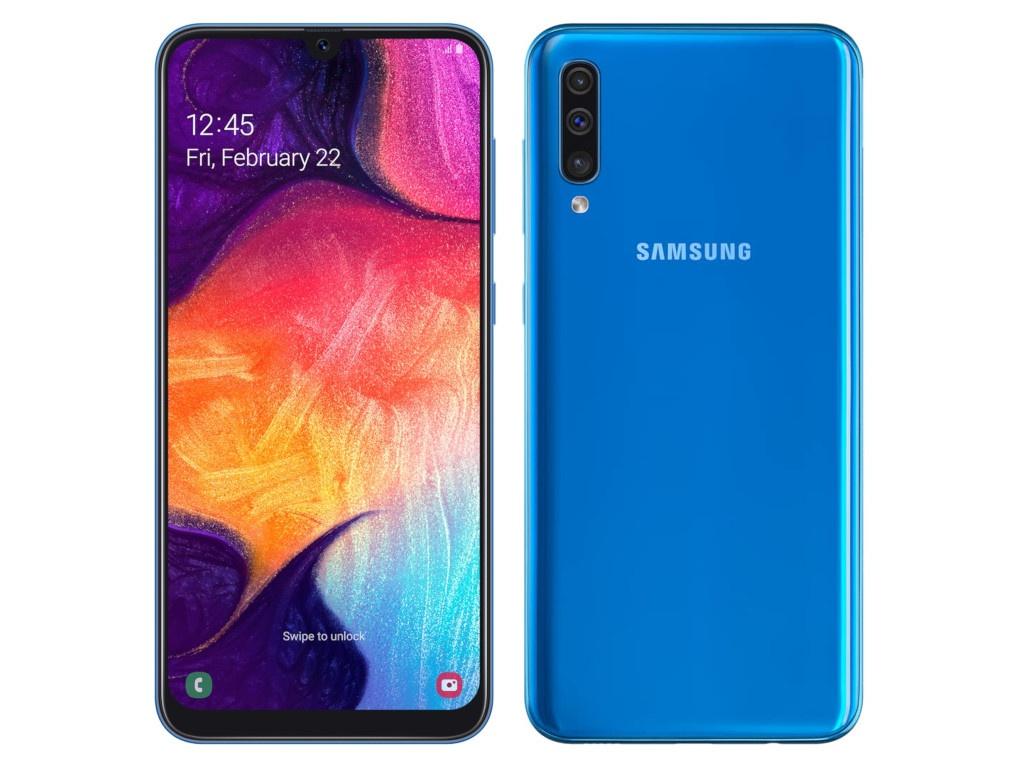 Сотовый телефон Samsung Galaxy A50 64GB Blue