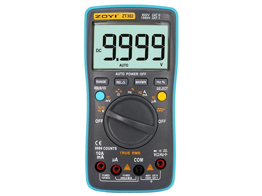 Мультиметр Zotek ZT302