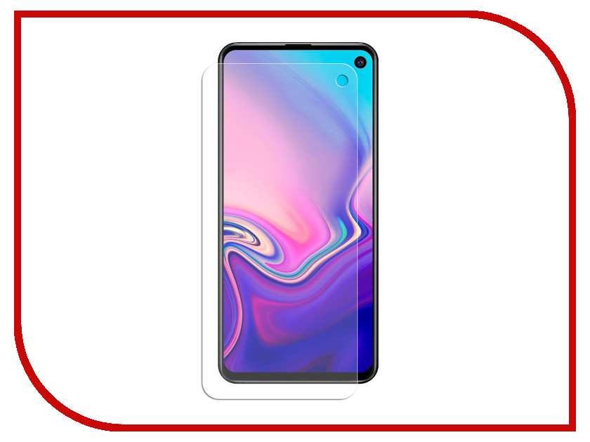 Аксессуар Защитная пленка для Samsung Galaxy S10 Red Line TPU Full Screen УТ000017207 for lenovo zuk z2 lcd screen display with touch screen digitizer panel glass assembly black white replacement parts free shipping