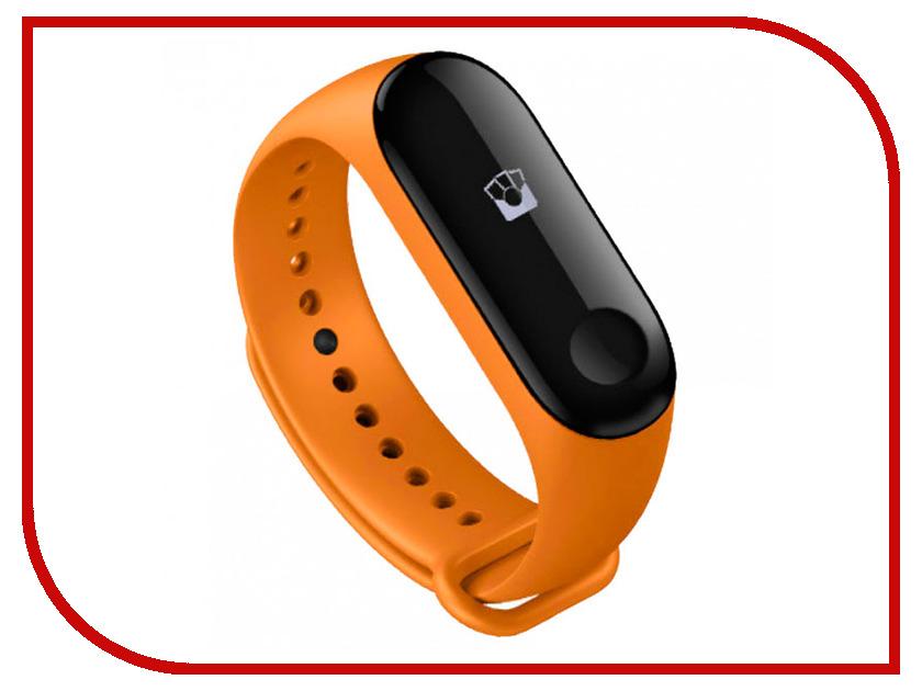 цена Умный браслет Xiaomi Mi Band 3 Orange
