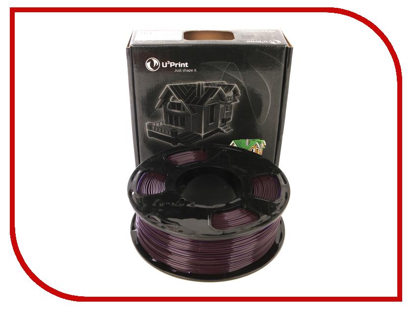 Аксессуар U3Print PLA Transparent 1.75mm 1kg Purple