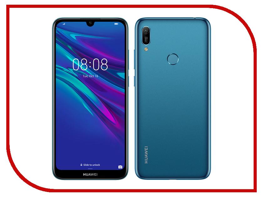 Сотовый телефон Huawei Y6 2019 Blue сотовый телефон oysters ufa cherry