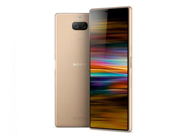 Сотовый телефон Sony Xperia 10 Plus Dual 4/64GB I4213 Gold чехол для sony i4213 xperia 10 plus brosco colourful черный