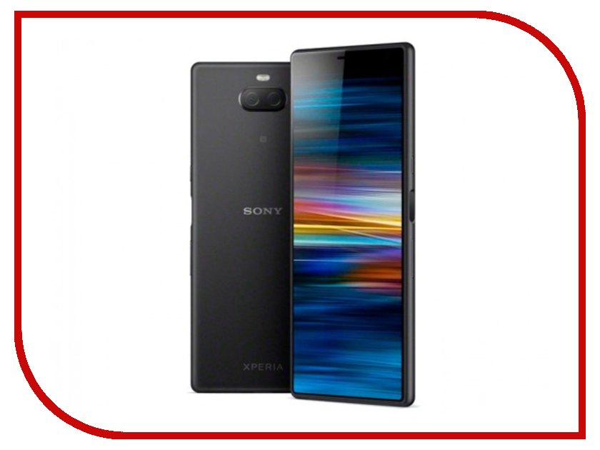 Сотовый телефон Sony I4213 Xperia 10 Plus Dual Black сотовый телефон sony xperia xa2 plus 32gb green