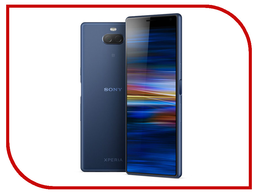 Сотовый телефон Sony I4113 Xperia 10 Dual Navy мобильный телефон sony xperia z l36h c6603 5 0 13 1mp 2 16 android original unlocked sony xperia z l36h lt36h l36i c6603