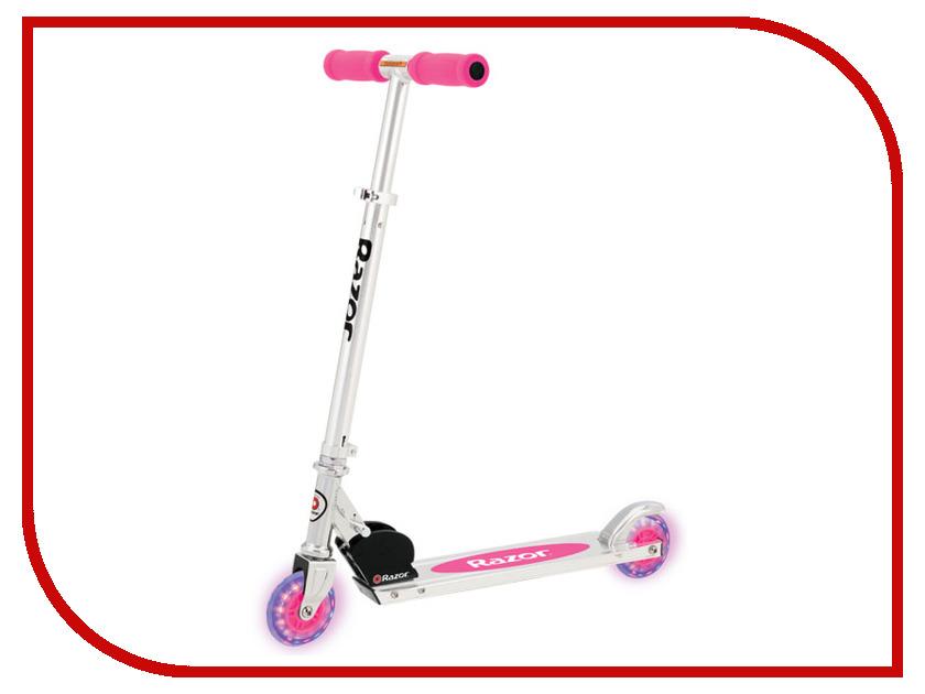 цена Самокат Razor A Light Up Pink