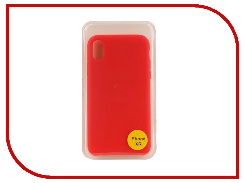 Аксессуар Накладка для iPhone XR 6.1 Red Line Silicon Case Red УТ000017264 qcbxyyxh red