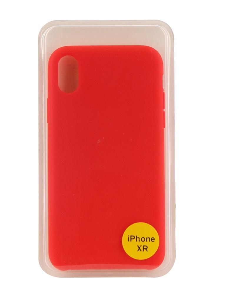 Аксессуар Накладка Red Line для APPLE iPhone XR 6.1 Silicon Case Red УТ000017264 x line xr 140