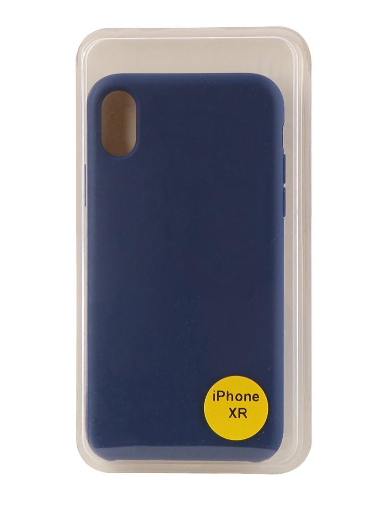 Аксессуар Накладка Red Line для APPLE iPhone XR 6.1 Silicon Case Blue УТ000017263