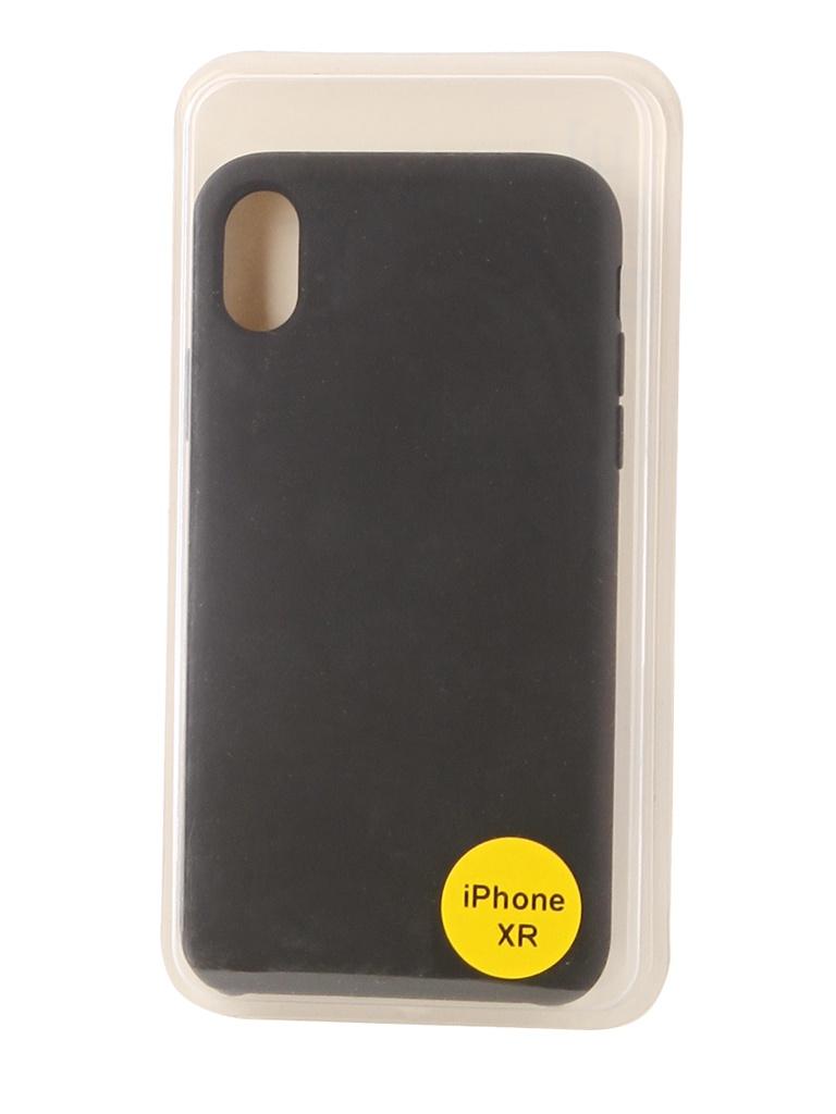 Аксессуар Накладка Red Line для APPLE iPhone XR 6.1 Silicon Case Black УТ000017262