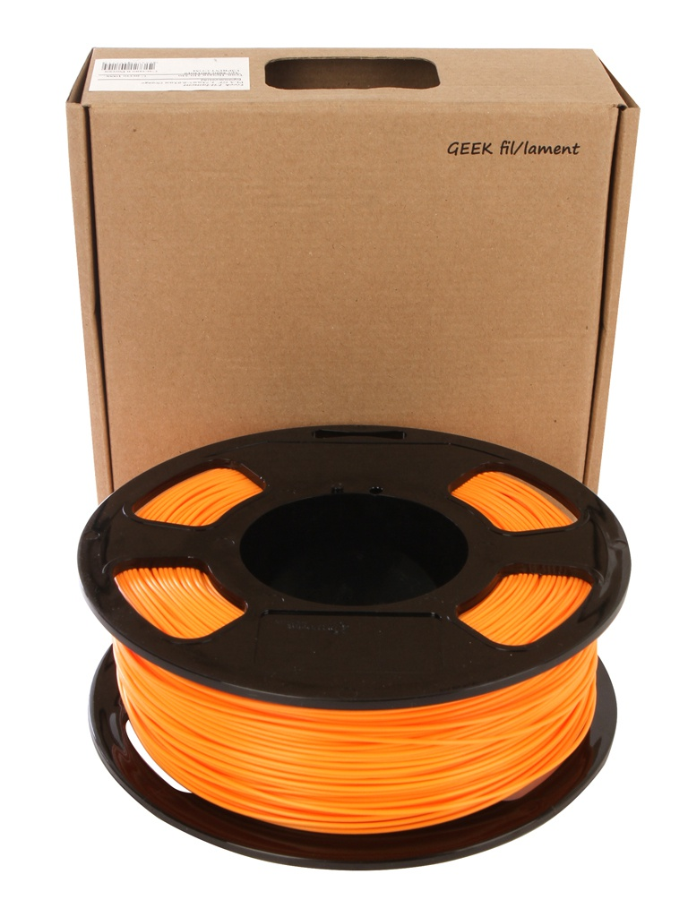 Аксессуар U3Print Geek fil/iament PLA-пластик 1.75mm 1kg Orange