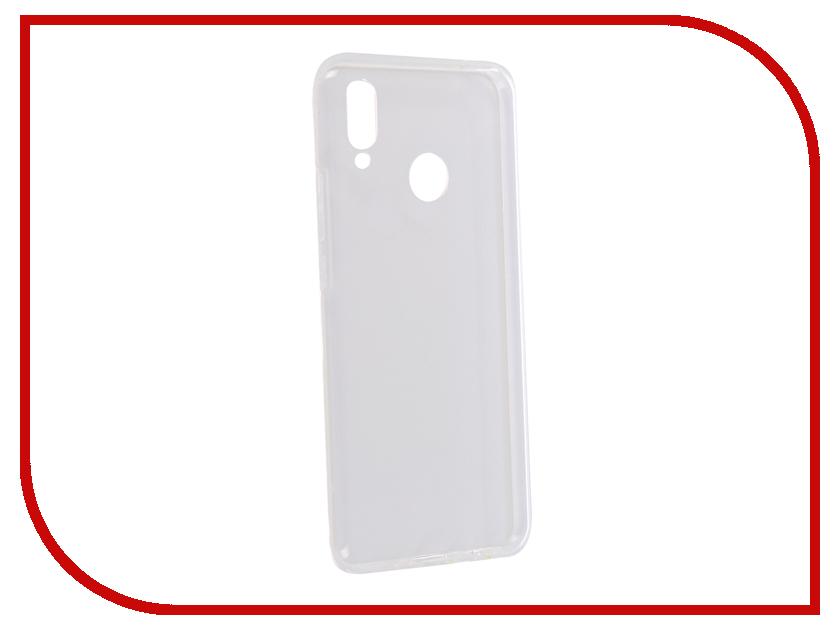 цена Аксессуар Накладка для Huawei Nova 3i iBox Silicon Crystal Transparent УТ000017130