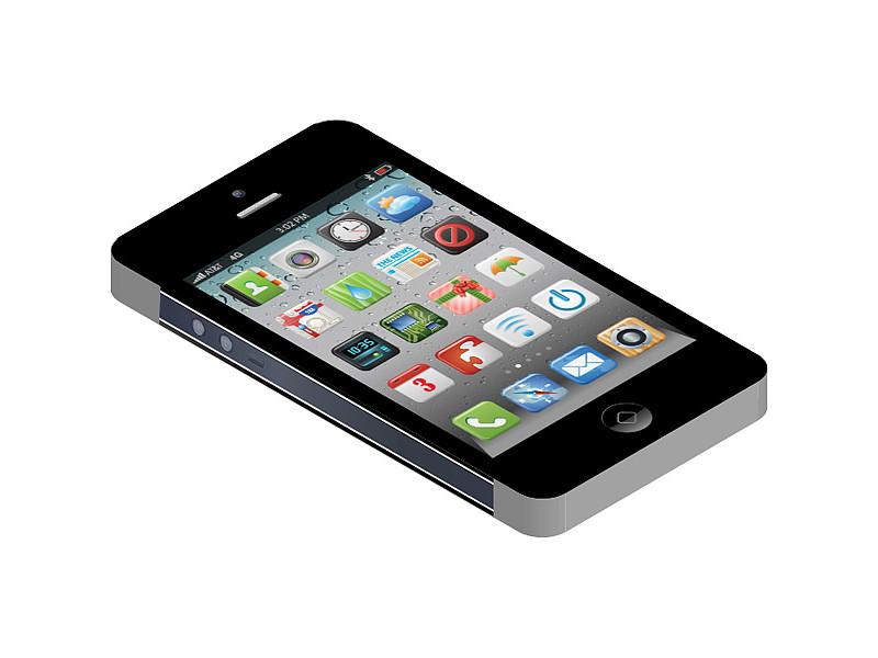 Блокнот Эврика Айфон с приложениями 92668